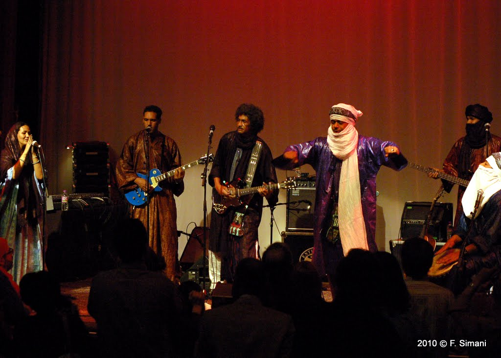 TINARIWEN – Tue., April 8, 2014 – The Majestic Theatre