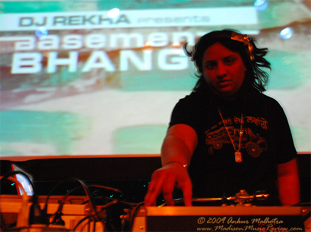 DJ Rekha with DJ Phil Money – Sat., May 1, 2010 – The Majestic Theatre