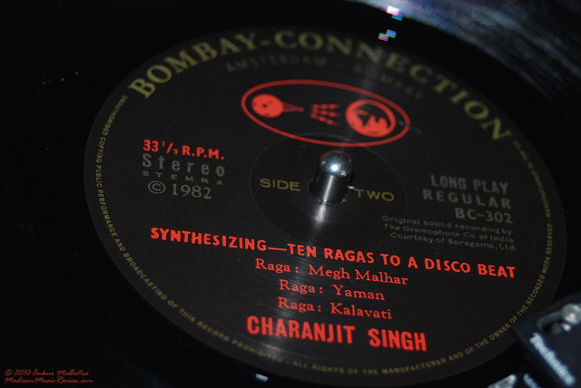 Album Review: Ten Ragas To A Disco Beat by Charanjit Singh