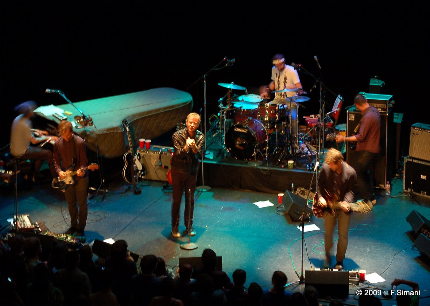 The National with Owen Pallett – Tue., September 28, 2010 – The Orpheum Theatre