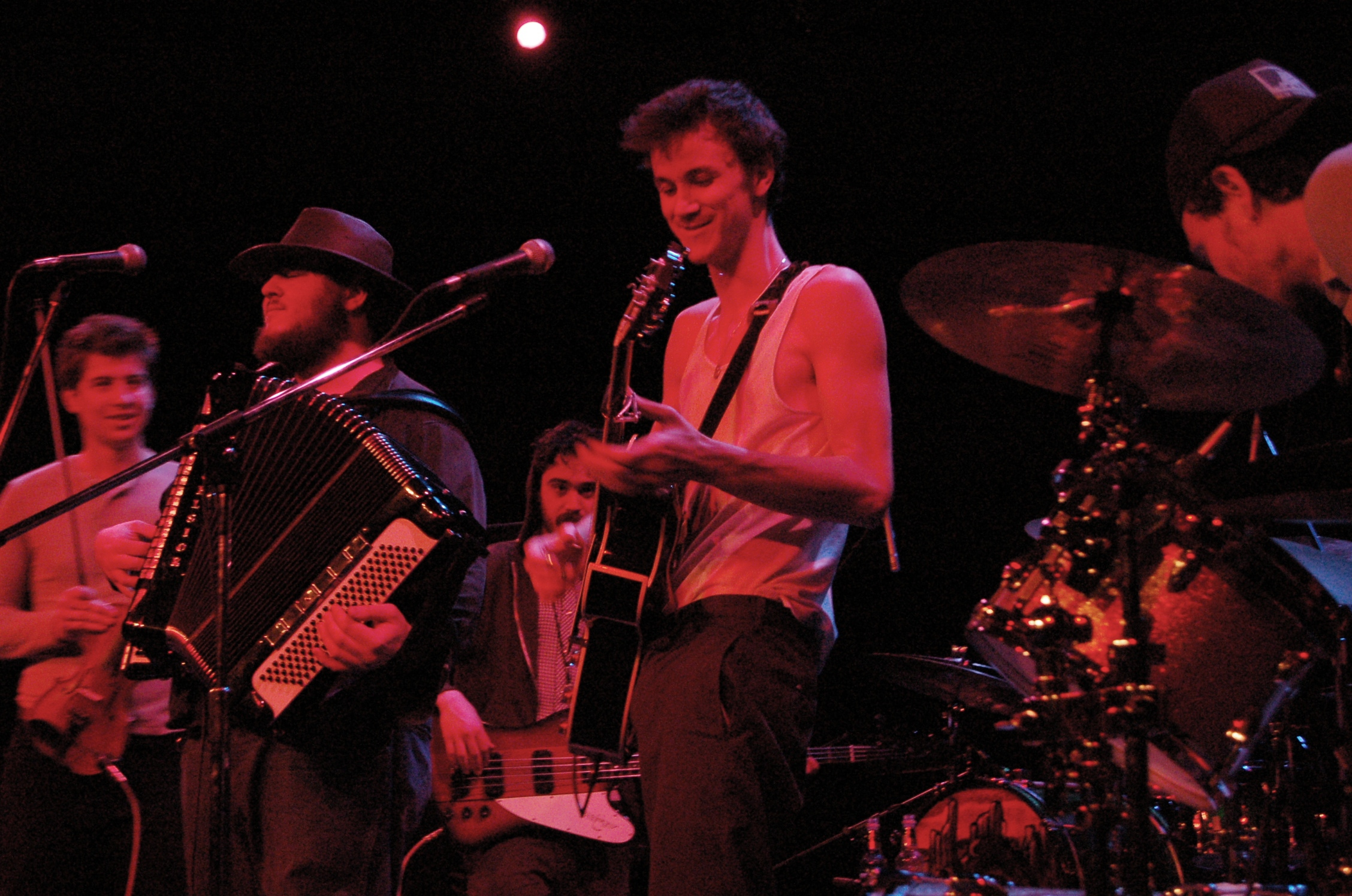 The Felice Brothers at The Pabst Theater, February 28, 2008