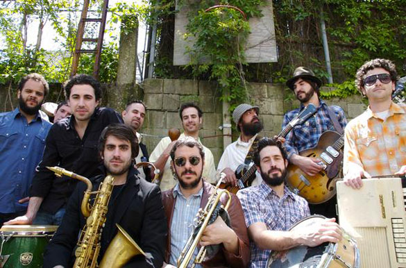 THE BUDOS BAND w/ CHARLES BRADLEY – Tue., April 19, 2011 – High Noon Saloon