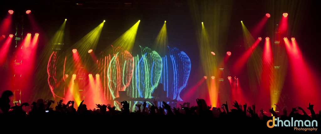 Photos: Bassnectar at Alliant Energy Center Exhibition Hall, April 8th, 2011