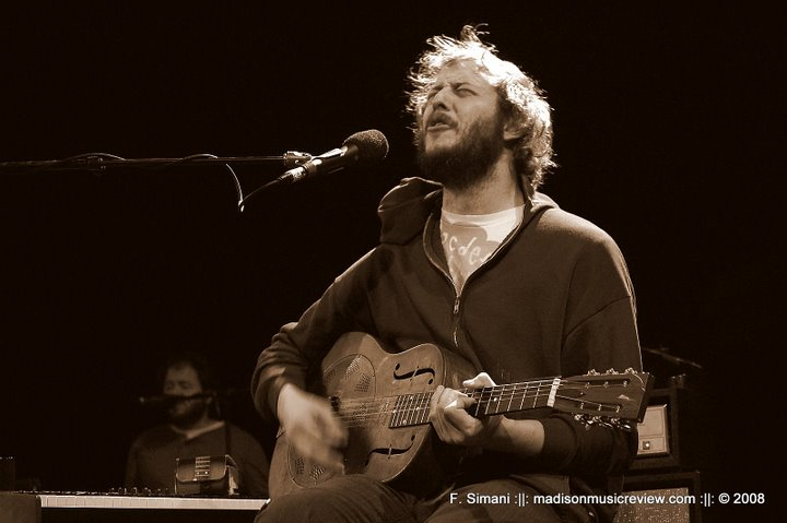 BON IVER W/ THE ROSEBUDS [SOLD OUT] – Sat., July 23, 2011 – The Riverside Theater