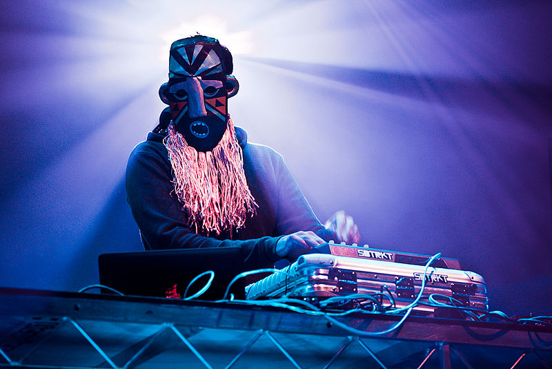 SBTRKT  – Sun., April 8, 2012 – The Majestic Theatre