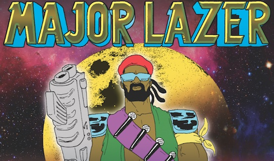 MAJOR LAZER – Tue., March 19, 2013 – The Majestic Theatre