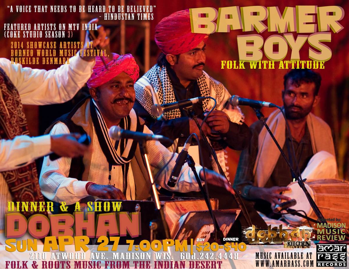 BARMER BOYS – Sun., April 27, 2014 – Dobhan
