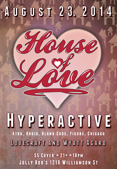DJ Hyperactive at House of Love!