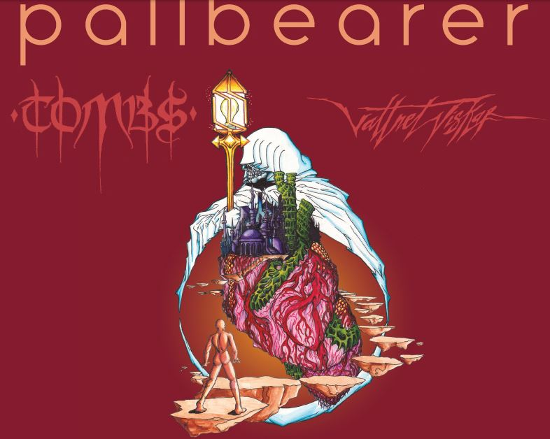 PALLBEARER w/ Tombs, Vattnet Viskar – Mon., October 20, 2014 – The Frequency