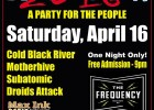 BOMBLASTICA 2016 – Sat., April 16, 2016 – The Frequency